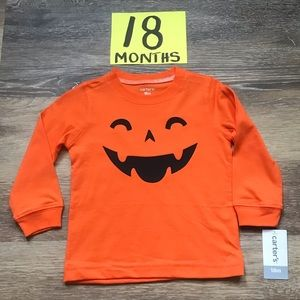🎃NWT Carter's 18 Months Halloween TShirt